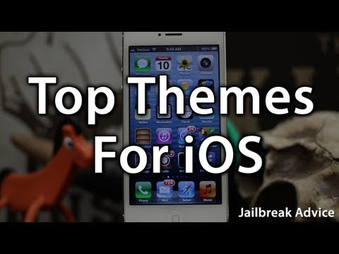 Top 3 Themes For Your Jailbroken iPhone Or iPod touch - iOS 6 Jailbreak - Themes
