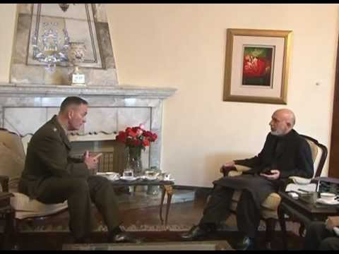 President Karzai Summons Gen. Joseph Dunford for Explanation on Shigal Bombing