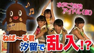 汐留でご当地アイドル甲子園!茨城を応援するネバー!!【ねば~る君が行く!】