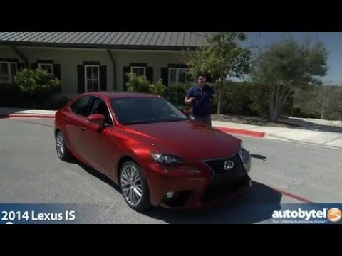 2014 Lexus IS 250/350 Test Drive & Luxury Car Video Review