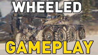 Wheeled Tank Gameplay in World of Tanks!