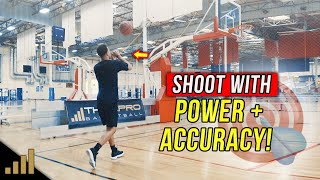 How to: Shoot a Basketball With Power and Accuracy!