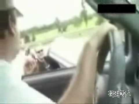 Funny Redneck BMW Road Rage Video