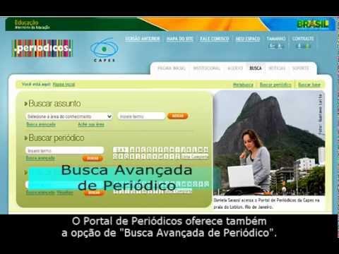 Vídeoaula IV: Portal Capes - busca por periódicos.mp4