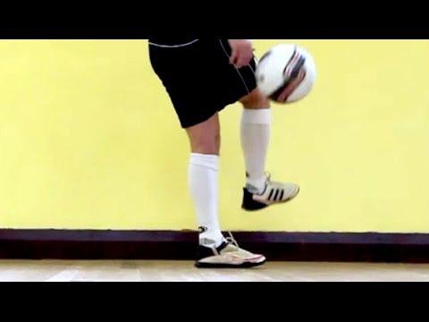 Learn Ronaldinho flick up trick -  Football Soccer Skills