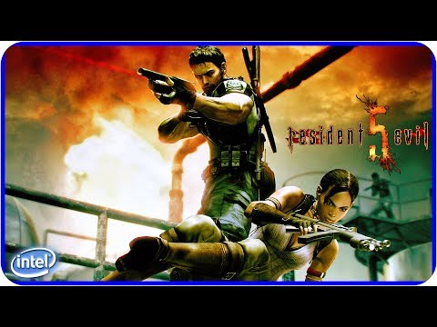RESIDENT EVIL 5: GAMEPLAY NA INTEL HD GRAPHICS 4400 (60 FPS)
