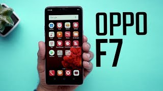 OPPO F7: First Look | Hands on | Price | [Hindi हिन्दी]