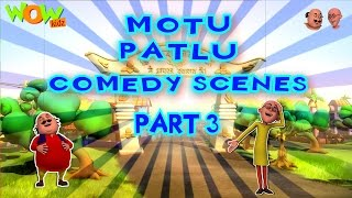 Motu Patlu Comedy Scenes - Compilation Part 3 - 30 Minutes of Fun! As seen on Nickelodeon