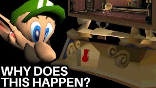 Luigi's GLITCHED Mansion: Spawning Black Holes EVERYWHERE! (Super Mario Bros)