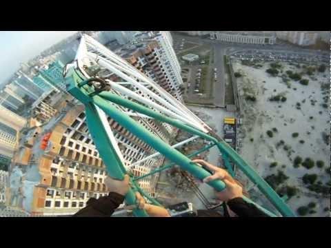 Base jumping city