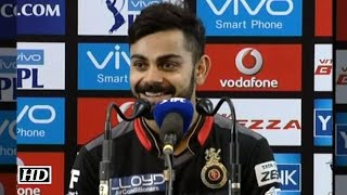 IPL9 RCB vs RPS: Virat reacts on his 100 vs RPS & Setting Record In IPL9