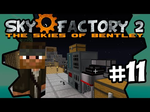 Capacitor Bank & Magnet | Sky Factory 2 | Ep.11