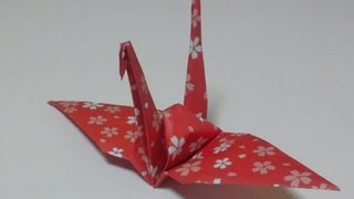 Great Origami-how To Make Paper Crane---