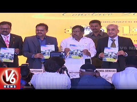 Minister Chandulal Launches Telangana Tourism Conclave 2018 In Hyderabad | V6 News