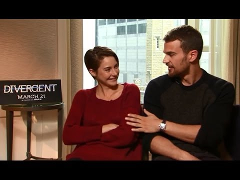 Shailene Woodley and Theo James talk 'Divergent' and stories of bravery and selfishness