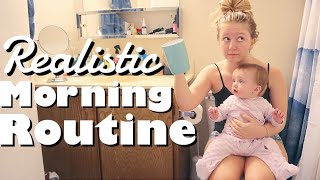 Realistic Teen Mom Morning Routine