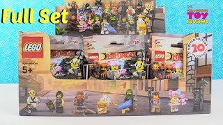 Lego Ninjago Movie Full Box Set Limited Edition Minifigures Toy Review | PSToyReviews
