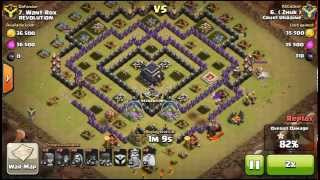 Hogs + Golem 9 TH 3 stars