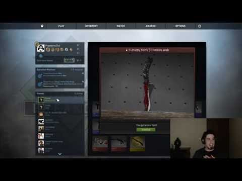 $280+ Knife Burger ★ Butterfly Knife | Crimson Web video