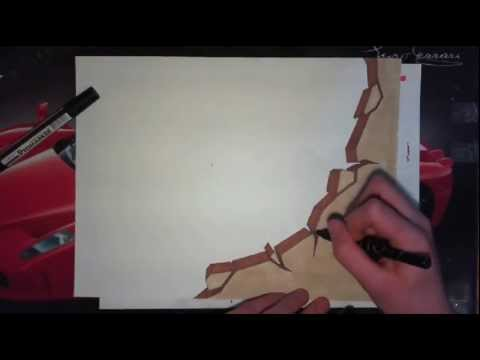 tutorial graffiti dessiner un mur dans vos graffs sur. Black Bedroom Furniture Sets. Home Design Ideas