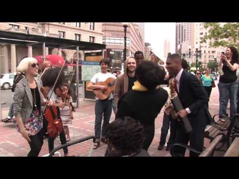 Musicians Serenade Boston's Copley Square | Jon Batiste and Stay Human with From the Top Performers