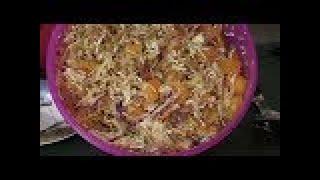 Asian Ramen Noodle Salad Gluten Free ~Dairy Free