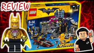 🔴 LEGO Batman Movie Batcave Break-In Review y Unboxing