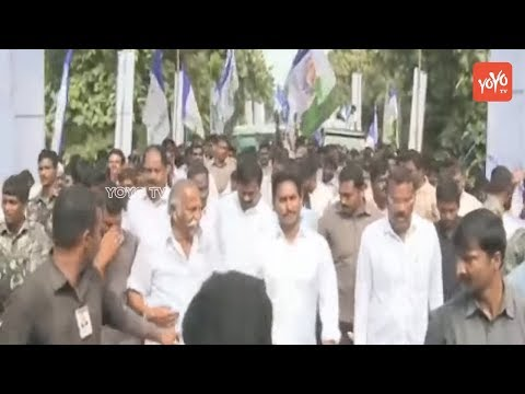 YS Jagan 234th Day of Padayatra Highlights | 2700 km Milestone | Tuni East Godavari |YOYO TV Channel