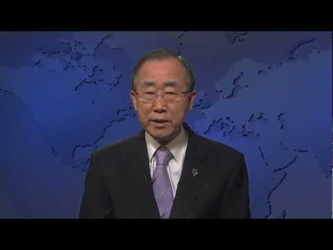Olympic Games and Truce, Video message by UN Secretary-General Ban Ki-moon