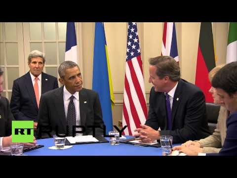 UK: Poroshenko, Obama, Cameron meet at NATO summit