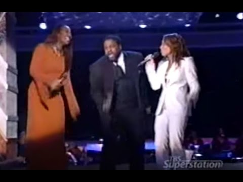 Gerald Levert, Yolanda Adams, & Tamia - I Believe I Can Fly video