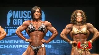 Final Four Toronto Pro Super Show Women's Bodybuilding 2013