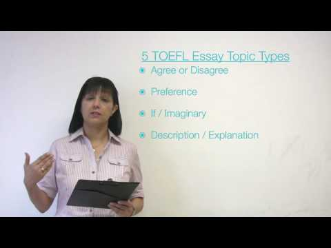 TOEFL Essay Types & Essay Patterns