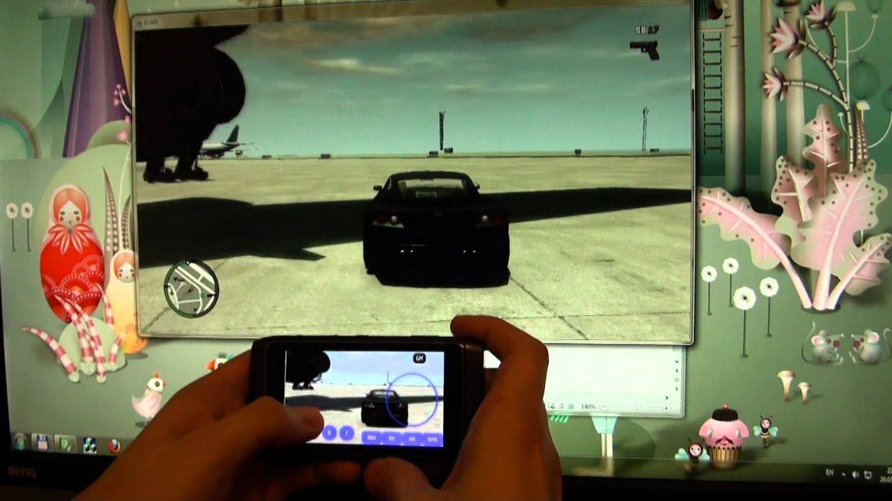 Playing GTA IV on Nokia N8 - YouTube