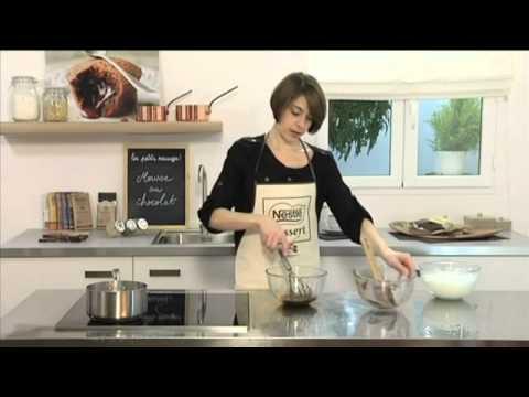 recette mousse au chocolat noir nestl dessert youtube. Black Bedroom Furniture Sets. Home Design Ideas