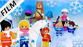 Playmobil Film deutsch | JULIANS KLASSENFAHRT in den SCHNEE Park | Schneeball Pranks? Kinderserie