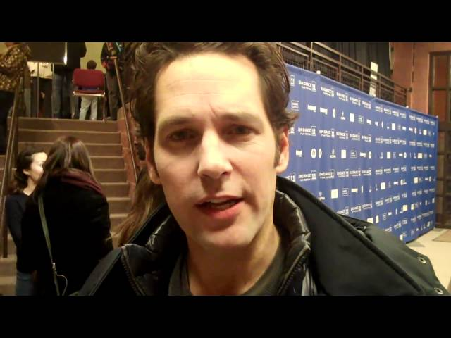Sundance 2011: Paul Rudd