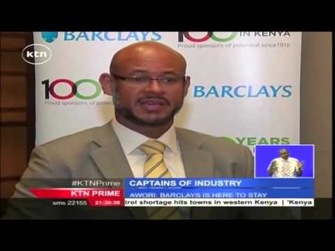 Captains of Industry: Barclays bank CEO Jeremy Awori speaks about the banking sector in Kenya