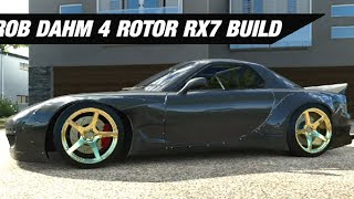 Rob Dahm's AWD 4 Rotor RX7 Build - Forza Horizon 3