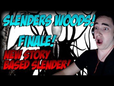I SHOT SLENDERMAN! SLENDERS WOODS FINALE!