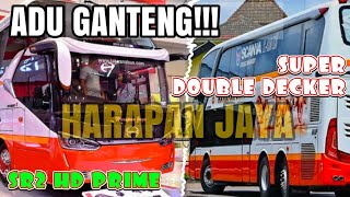 Download Lagu Gantengan yang mana? Bus Harapan Jaya SR2 HD Prime dan Super Double decker? Gratis STAFABAND