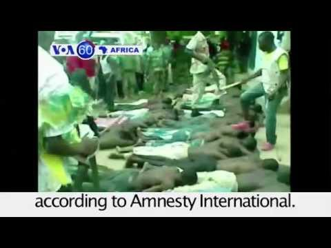 Nigeria's military accused of human rights violations by Amnesty International: VOA60 Africa 08 07