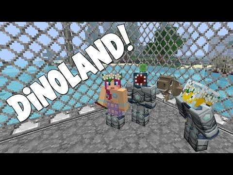 Minecraft - Attack Of The B Team - Dino-Land!! [21]