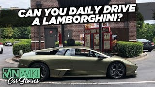 Can you really daily drive a Lambo?