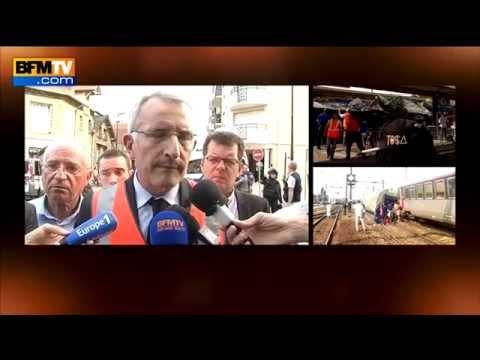 Guillaume Pépy, s'exprime après le déraillement d'un train à Brétigny-sur-Orge - 12/07