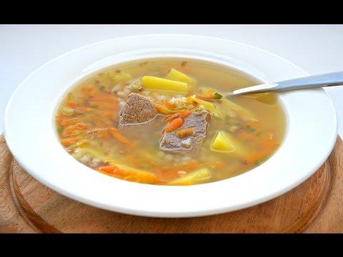 Как приготовить суп с мясом и вермишелью