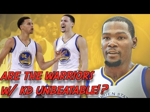 KEVIN DURANT & GOLDEN STATE WARRIORS VS. LEBRON JAMES & CLEVELAND CAVALIERS!