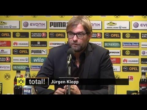 PK zum Spiel BVB - VfB Stuttgart: Klopp verlängert bis 2018