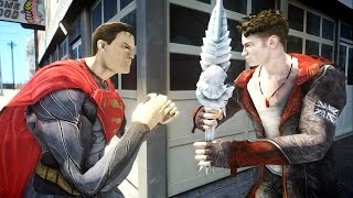DANTE (Devil May Cry) VS SUPERMAN - EPIC BATTLE