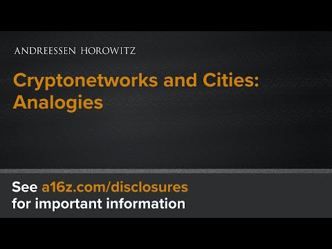 Cryptonetworks and Cities: Analogies